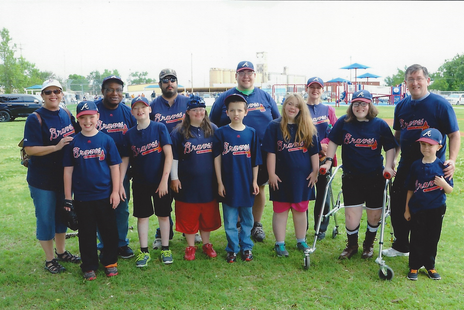 Braves Team Miracle League